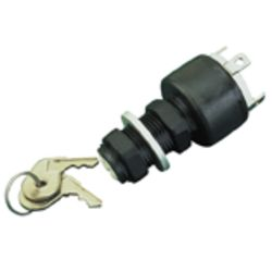 Three Position Ignition Switch - Polypropylene