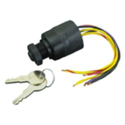 6 Wire Terminal 3 Position Ignition Switch - Magneto Style
