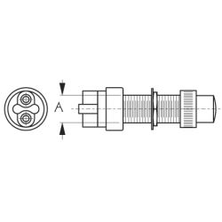 Momentary Push Button Switch with Cap