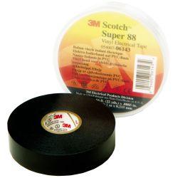 3/4IN BLK SUPER 88 VYL TAPE (66FT)