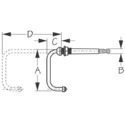Swiveling Telescoping Faucet