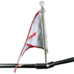 Bow Form Flagpole  -  13""