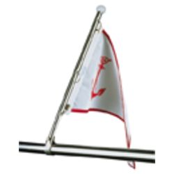 Pulpit Flagpole and Rail Mount