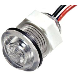 WHITE LED BULKHEAD LIGHT 24VOLT