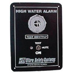 Extra Loud Ultra Bilge Alarm A201 103 db High Water Alarm w//test//mute A-201