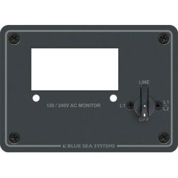 120/240V AC Digital Meter Blank Panel