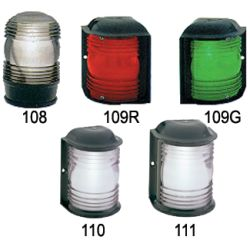 Figs. 108-111 - Black Plastic Navigation Lights