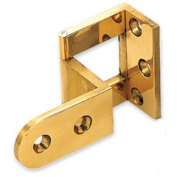 OVERLAY DOOR ANGLE HINGE EACH