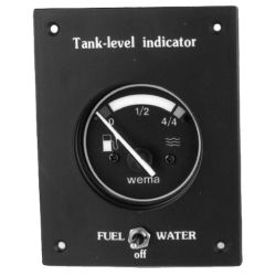 WATER TANK GAUGE- DUAL, BLACK