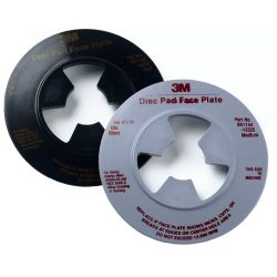 4.5IN GRY DISC PAD FACE PLATE