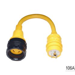 30A 125V(F) TO 20A 125V(M) ADAPTER