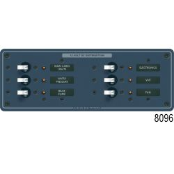 AC Circuit Breaker Sub-Panel - 6 Positions