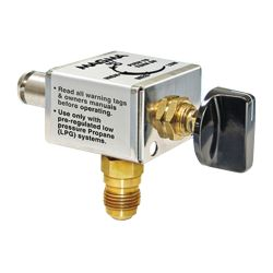 Barbeque Onboard Propane System Conversion - Propane Control Valves