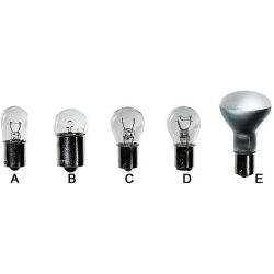Single Contact Bayonet Base Bulbs