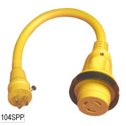 30A 125V(F) TO 15A 125V(M) PLUS ADAPTER