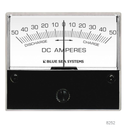 "Zero Center DC Ammeters, Ammeter 100 - 0 - 100A (2-3⁄4"" Face)"