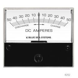 100-0-100A DC ANALOG ZERO CENTER AMMETER