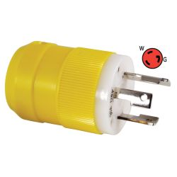 30 Amp Locking Shore Power Plug & Connector