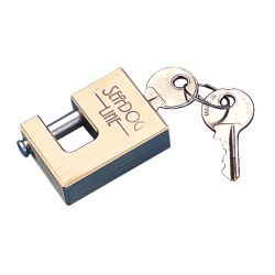BRASS COUPLER LOCK W/STAINLESS PIN