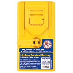 SURVIVAL LITHIUM BATTERY F/2727 RADIO
