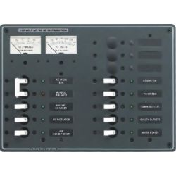 AC Main + 11 Position Circuit Breaker Panel