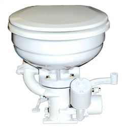 12V WHT K TOILET W/HOUSE BOWL