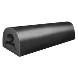 60FT OF BUMPER-BLACK 4-1/4X3-7/8X3/4