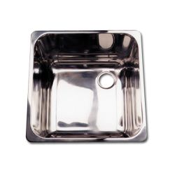Rectangular Mirror Finish Sink
