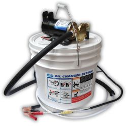 """Porta Quick"" Oil Changer Kit with Bucket"