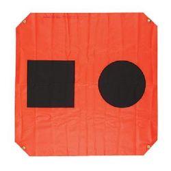 3X3FT ORG DISTRESS FLAG