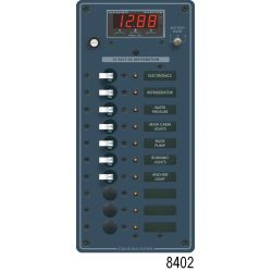 12V A SERIES PANEL 10 POS MULTIMETER