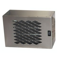 S.S. 12 V. HEATER W/ SINGLE FAN