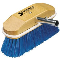 SOFT ROYAL BLUE NYLON BRUSH 8X2.5IN
