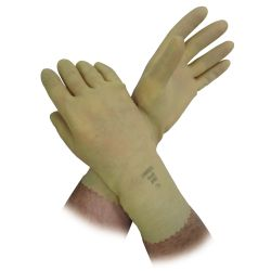 GLOVE SIZE 10 LATEX/CANNERS