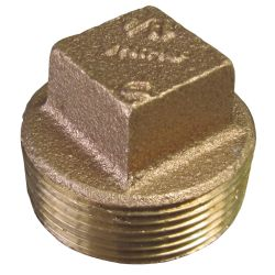 Solid Square-Head Plug