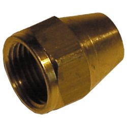 1/2IN BRS SHORT FLARE NUT