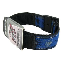 """Thin Watch Band with Thin Clip Closure - 3/4"""" Wide Lightweight Band"""