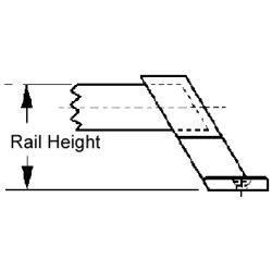 Hand Rail Fittings - 60º Center