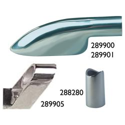 Hand Rail Fittings - 90 Degree End