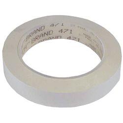 3/4IN WHT SCOTCH PLASTIC TAPE 471 (36YD)