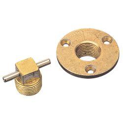 Garboard Drain and Plugs - Bronze