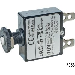 Blue Sea Systems 7051 4A PUSH BUTTON CIRCUIT BREAKER