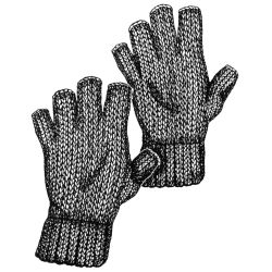 FINGER LESS GLOVE  LARGE SIZE