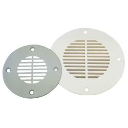 ABS DECK DRAIN 5-5/8IN WHITE