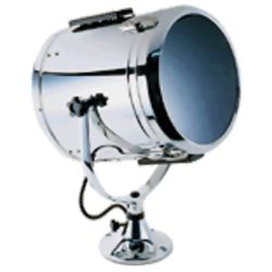 12IN WHT SEARCHLIGHT W/STD PEDESTAL