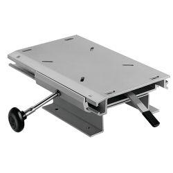 Low Profile Seat Slide and Locking Swivel