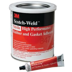 Scotch-Grip No.847 Brown Nitrile Rubber And Gasket Adhesive