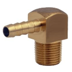 90 DEG NPT HOSE ADAPTER 1/4IN-3/8IN