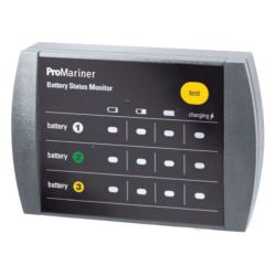 REMOTE BATTERY BANK STATUS MONITOR