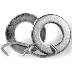 WOBBLE ROLLER WASHERS W/CLIP RINGS (PR)